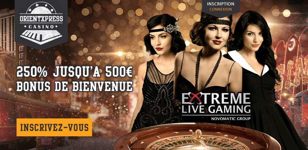 Notre avis sur OrientXpress, à voir avant de choisir un casino en ligne